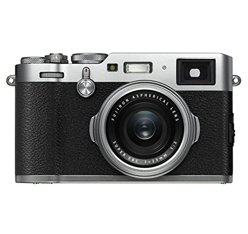 Fujifilm X100F 24.3 MP APS-C Digital Camera-Silver