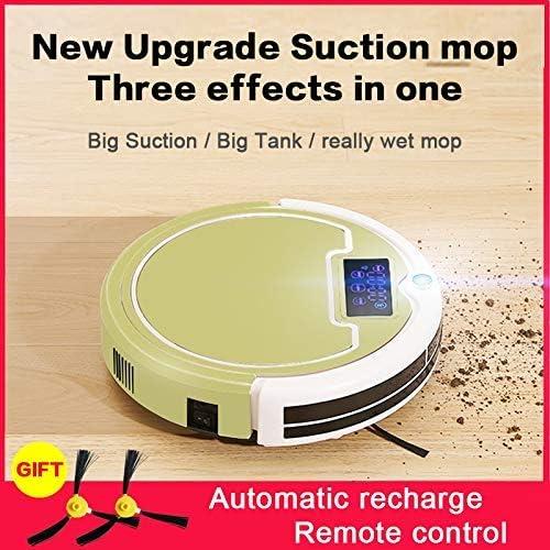 Zhipeng Aspirateur Robot Intelligent Robot, Planification Automatique de Recharge à Distance Contrôle Mopping Balayer Aspiration Aspirateur Robot hsvbkwm