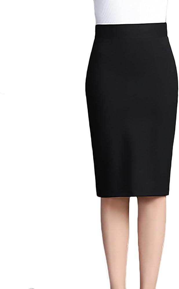 Faldas Mujer Elegante Slim Fit Entallados Elasticidad por La ...