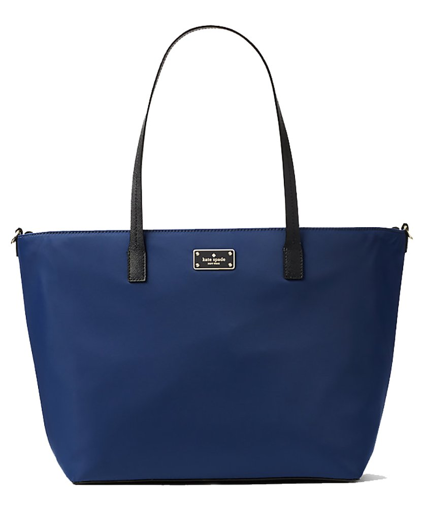 Kate Spade Blake Avenue Margareta Baby Black Nylon Baby Bag (Oceanic Blue)