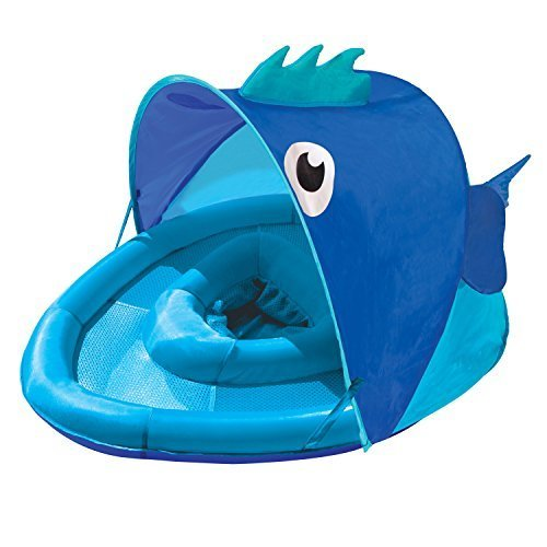 Swim School- Confidence Building System Fish Sun Shade Baby Float by Swim School- Confidence Building System