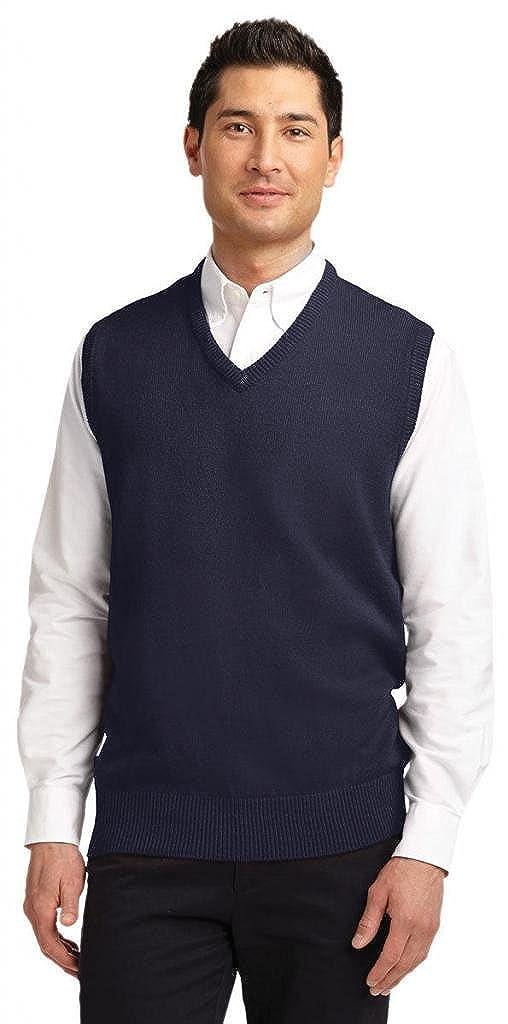 Port Authority Mens Value V-Neck Sweater Vest SW301