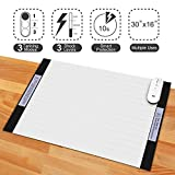Pet Training Mat - 30 x 16 Inches Pet Shock Mat for Dogs & Cats, 3 Training Mode Shock Mat for Cats & Dogs, Indoor Use Pet Training Pad w/LED Indicator, Flexible Mat, Long Battery Life