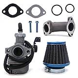 125 pitbike carburetor - NIMTEK 22mm Carburetor Air Filter Fit 110cc 125cc CRF SSR Sunl Taotao Pit bike ATV