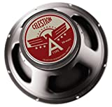 CELESTION A-Type 8-Ohm 12-Inch 50-Watt American Tone Guitar Speaker, Black