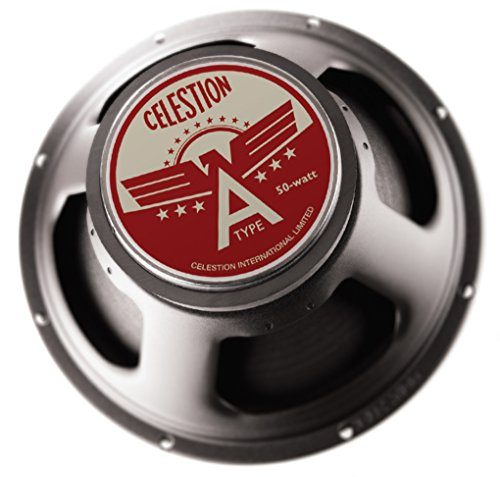 CELESTION A-Type 8-Ohm 12-Inch 50-Watt American Tone Guitar Speaker, Black by CELESTION
