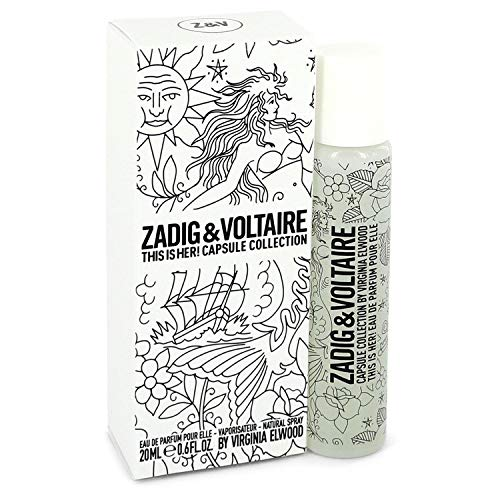 Used, This is Her by Zadig & Voltaire Mini EDP Spray .6 oz for sale  Delivered anywhere in USA