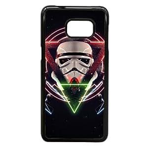 Samsung Galaxy S6 Edge Plus Cell Phone Case Fantasy Movies Star Wars Black Custom Case Cover 6TYU432468