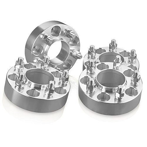4 Hubcentric Wheel Spacers Adapters 5 Lug Fit 5x4.25 Ford: Taurus Thunderbird Windstar / Jaguar: S-Type X-Type / Lincoln: Continental - 2 Inch (50 mm) by wheelpartsonline