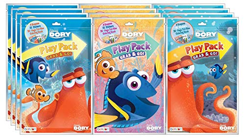 Bundle of 12 Disney Pixar Finding Dory Grab & Go Play Packs