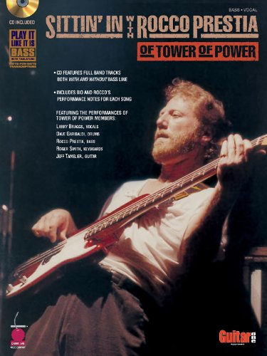 (Sittin' In with Rocco Prestia of Tower of Power - Bass Book and CD Package)