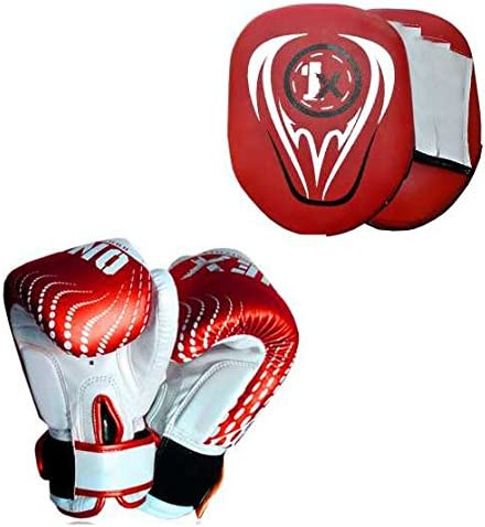 Kids Focus Pad MMA Set Training Set Hook /& Jab Strike Pads For Boys /& Girls Target Boxing Set Onex Kids Boxing Set Blue Boxing Set Punching Bag Set Boxing Gloves Training Set