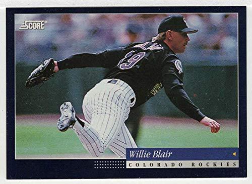 Willie Blair (Baseball Card) 1994 Score # 118 NM/MT