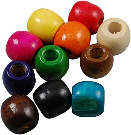 0,4 10 Holzperlen 10mm Brauntöne Farbwahl Perle Holz Schmuckperle Bastelperle