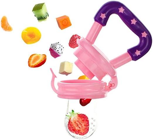 4pcs hibou 4pcs aliments pour b/éb/és chargeur de fruits frais sucette ensemble dispositif dalimentation de compl/ément alimentaire pour b/éb/é