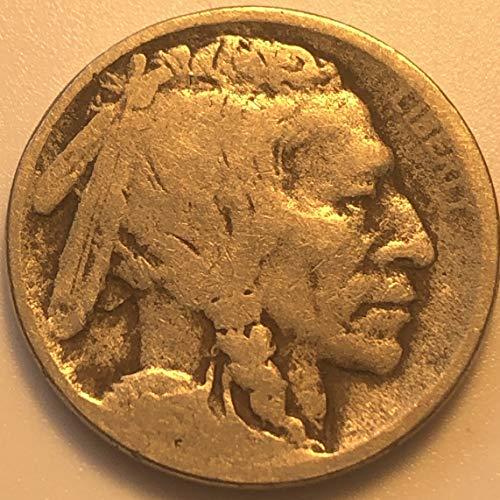 1913 D Buffalo First Year Of Buffalo Nickel AG
