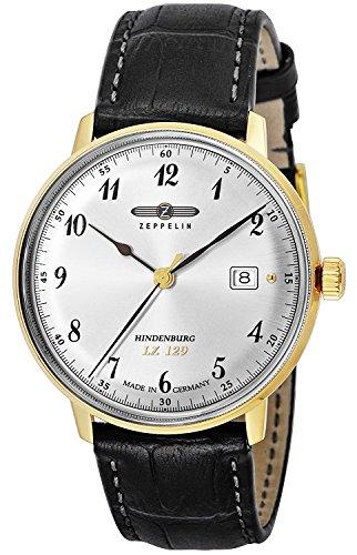 ZEPPELIN watch Hindenburg Silver Dial 7044-4 Men's parallel import goods]