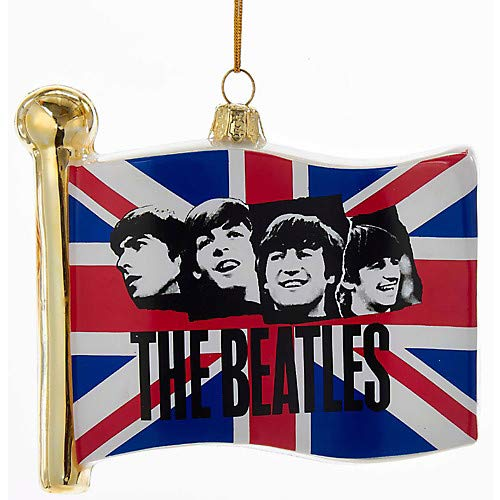 - Beatles Glass Flag Ornament Pack of 2