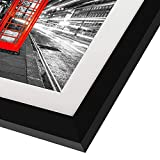 Americanflat 11x14 Black Picture Frame with