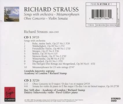 OBOE CONCERTO STRAUSS PDF DOWNLOAD