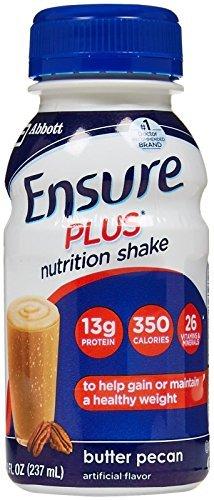 Ensure Plus Butter Pecan (Ensure Plus Butter Pecan Shake 6/8 fl oz Bottle(S) by Ensure)