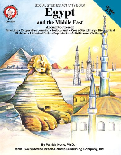 Mark Twain - Egypt and the Middle East, Grades 5 - 8