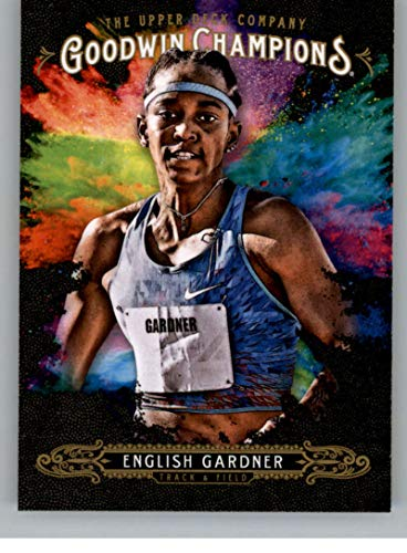 2018 Upper Deck Goodwin Champions #122 English Gardner Splash of Color Trading Card