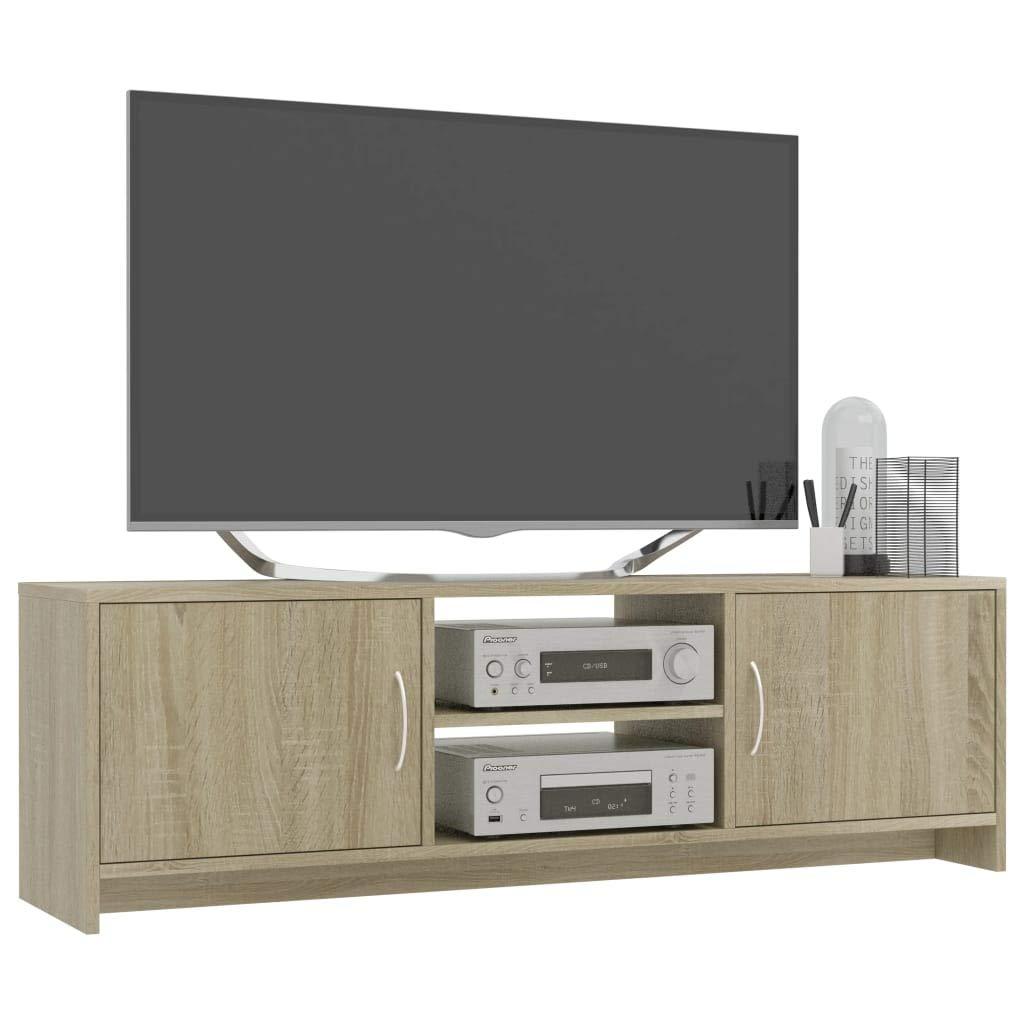 mewmewcat Mobile TV Rovere Sonoma in Truciolato 120x30x37,5 cm