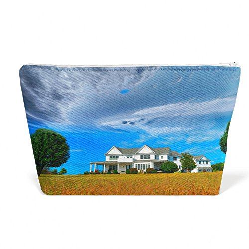 Westlake Art - House Mansion - Pen Pencil Marker Accessory Case - Picture Photography Office School Pouch Holder Storage Organizer - 125x85 inch (27457)