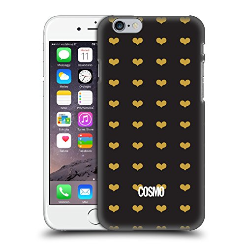Official Cosmopolitan Heart Pattern Love Cosmo Hard Back Case for Apple iPhone 6 / 6s