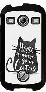 Funda para Samsung Galaxy Xcover 2 (S7110) - El Hogar Es Donde Su Gato Es by Asmo