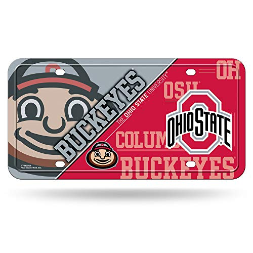 NCAA Ohio State Buckeyes Metal License Plate ()