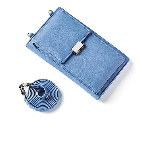 Mujer Oblicuo De Teléfono Solo Multifunción Móvil Bolsa Hombro Axiba Cruz Azul PaxASwwE