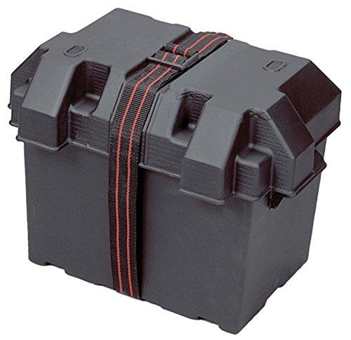 Marine Boat RV Camper Trailer Plastic Battery Box Tray Holder / Strap / Grp 27 Powerhouse