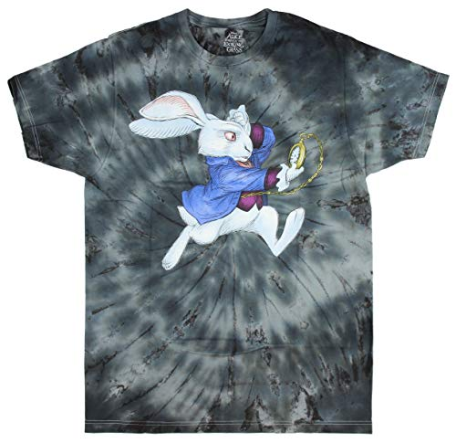 Disney Alice Through The Looking Glass White Rabbit Nivens McTwisp Men's T-Shirt (Small)