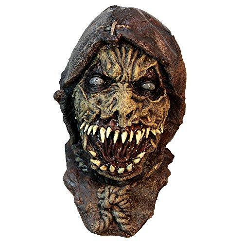 Ghoulish Masks Zombie Dark Scarecrow Wizard Of Oz Costume Mask -