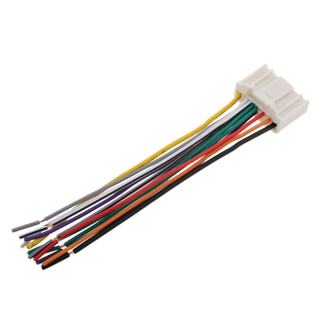 MonkeyJack Radio Stereo Wire Wiring Harness Install Cable for Nissan Altima Maxima 370Z