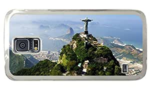 Hipster Samsung Galaxy S5 Case cool cases corcovado brazil PC Transparent for Samsung S5