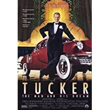 Tucker: The Man and His Dream Movie Poster (27 x 40 Inches - 69cm x 102cm) (1988) -(Jeff Bridges)(Martin Landau)(Dean Stockwell)(Frederic Forrest)(Mako)(Joan Allen) by MG Poster