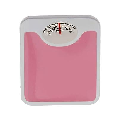 1:12 De La Escala Escala De Peso Muñecas Casa En Miniatura De Color Rosa: Juguetes y juegos