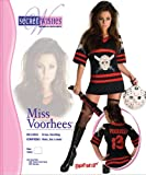 Secret Wishes  Friday The 13Th, Miss Voorhees Mini-Dress And Handbag, Black, Large