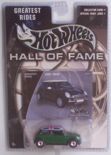 Hot Wheels Hall of Fame Greatest Rides 2001 Mini Cooper 1:64 Scale Collectible Die Cast Car
