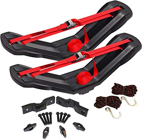Malone SeaWing Saddle Style Universal Car Rack Kayak Carrier with Bow and Stern Lines