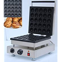 Newtry NP-611 25pcs Commercial Electric non-stick stainless steel Ball Donut waffle maker ,pop cake waffle baker, Waffle Toaster, waffle machine (220V)