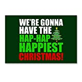 CafePress - Hap-Hap-Happiest - Postcards (Package of 8), 6'x4' Glossy Print Note Card