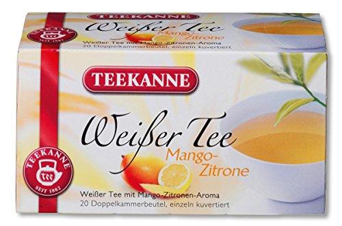Teekanne Weisser Tee