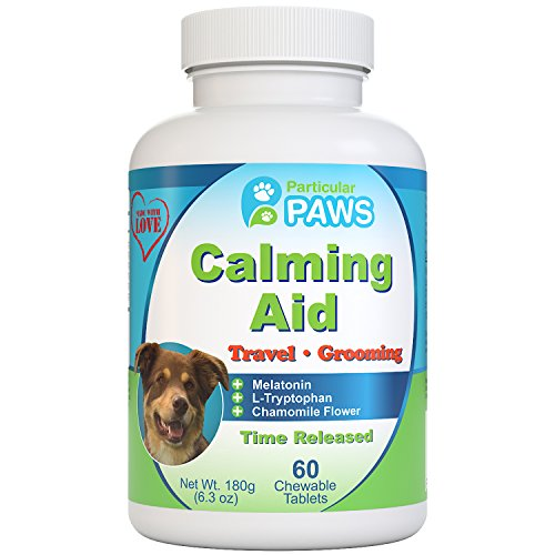 Particular Paws Melatonin Calming Aid Chewable