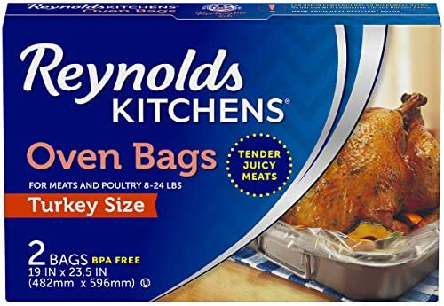 Bolsas para horno Reynolds, tamaño para pavo, 2 ...
