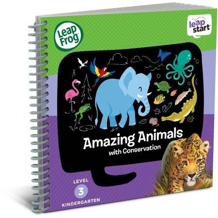 LeapFrog LeapStart Interactive Learning System for Kindergarten & 1st Grade, Exclusive Purple + Level 3 LeapStart Activity Book Bundle, Kids Educational Books, Learn Basic Concepts, Kids Gift Set by LeapFrog (Image #3)
