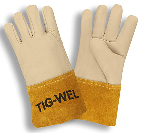 Cordova Safety Products 8130L  Premium Grain Cowhide Welding Gloves, Large